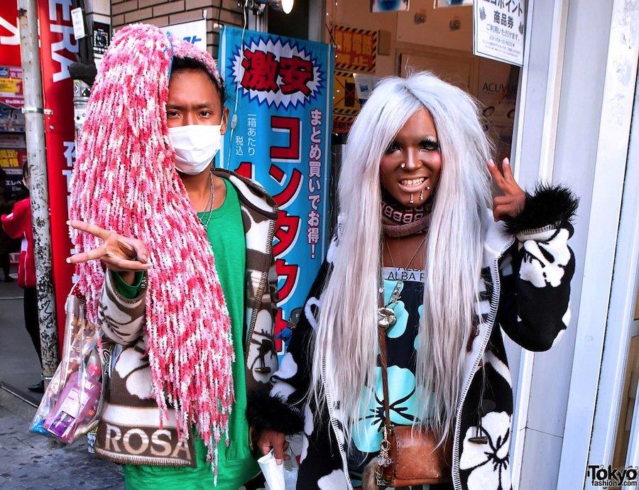 10 экзотических стилей японской моды